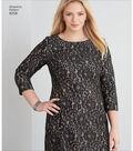 Simplicity Pattern 8258 Misses\u0027 & Plus Size Dress-Size BB (20W-28W)