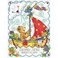 Tobin Sail Away Baby Counted Cross Stitch Kit