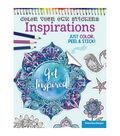 Adult Coloring Book-Design Originals Color Your Own Sticker Inspirations