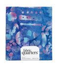 Fabric-Quarters Batik Fabric-Assorted Blue