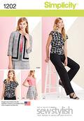 Simplicity Pattern 1202U5 16-18-20-2-Sportswear