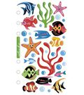 Sticko Vellum Stickers-Tropical Fish