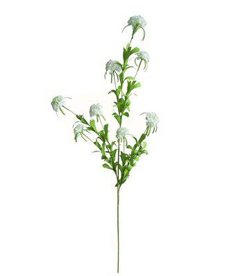 Fresh Picked Spring 34'' Mini Mum Spray-White