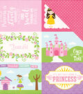 Perfect Princess Double-Sided Cardstock 4\u0022X6\u0022 Journaling Cards