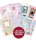 Hunkydory One Sheet Wonders A4 Paper Pad Card Kit-Reveal Cards