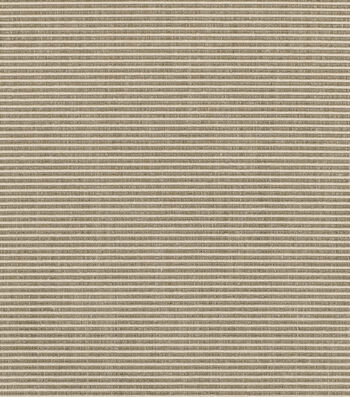"Sunbrella Outdoor Fabric 54""-Rib Taupe/Antique Beige"