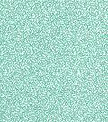Quilter\u0027s Showcase Cotton Fabric -Turquoise Blue Swirl Vines