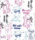 Snuggle Flannel Fabric 42\u0022-The Cat\u0027s Meow