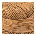 Lizbeth Cordonnet Cotton Size 3-Maple Syrup