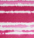 Snuggle Flannel Fabric -Very Berry Stripe Tiedye