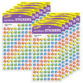 Happy Books superShapes Stickers 800 Per Pack, 12 Packs