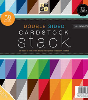 """DCWV 12""""x12"""" Double Sided Cardstock Stack"""