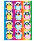 Die-Cut Magnets, Color Owls, 12 Per Pack, 6 Packs