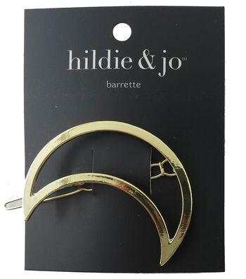 hildie & jo Open Moon Gold Barrette