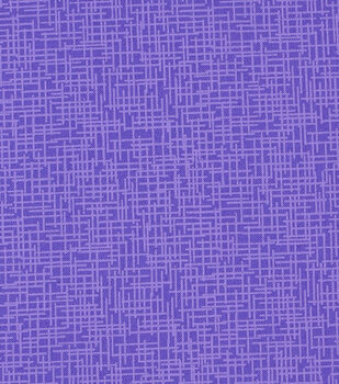 Mardi Gras Cotton Fabric-Crosshatch Purple