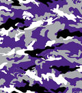 Kansas State University Wildcats Cotton Fabric -Camouflage