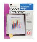 Charles Leonard Sheet Protectors, Letter Size, 100 Per Box, 2 Boxes