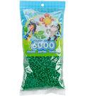Perler Beads 6,000/Pkg-Dark Green