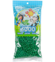 Perler 6000 pk Beads-Dark Green, , hi-res