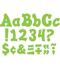 Green Sassy Solids 3\u0022 Letters