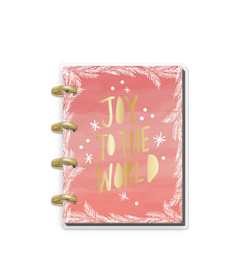 The Happy Planner Christmas Mini Keepsake Planner-Joy to the World