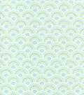 Snuggle Flannel Fabric 42\u0022-Pastel Scallop