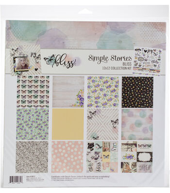 Simple Stories Bliss 12''x12'' Collection Kit
