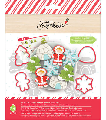 Sweet Sugarbelle Christmas Shape Shifter Cookie Cutter Set-Winter