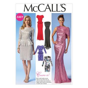 McCall's Misses Dress-M7047