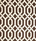 Home Decor 8\u0022x8\u0022 Fabric Swatch-Eaton Square Flagstone Chocolate