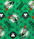 Boston Celtics Fleece Fabric