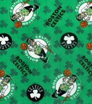 Boston Celtics Fleece Fabric 58'', , hi-res