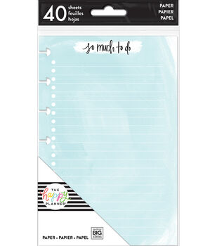 The Happy Planner Mini Note Papers-Watercolor