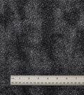 Cosplay By Yaya Han Metallic Foil Knit Fabric 54\u0022-Black/Silver