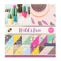 Die Cuts with a View Wild & Free 36 pk Premium Printed Cardstock Stack