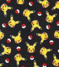 Pokemon Pikachu Cotton Fabric-Toss