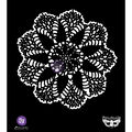 Prima Marketing Finnabair 6\u0027\u0027x6\u0027\u0027 Elementals Stencil-Lace Doily #3