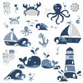 York Wallcoverings Wall Decals-Nautical Sea Friends