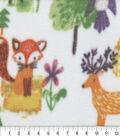 Anti-Pill Fleece Fabric 59\u0022-Woodland Animals