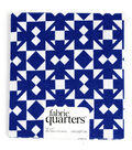 Fabric Quarters Cotton Fabric 18\u0022-Blue