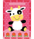Vervaco I Stitch! Kits 4 Kids Embroidery Cards Kit-Lamb & Cow