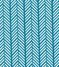Quilter\u0027s Showcase Cotton Fabric -Linear Arrows on Turquoise