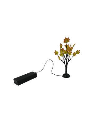 Simply Autumn LED 6'' Mini Tree-Red