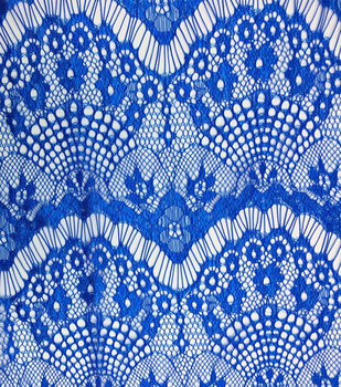 "Casa Collection Eyelash Lace Fabric 56""-Solids"