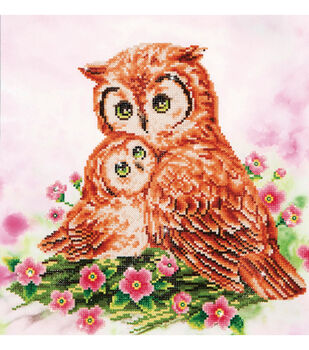 Diamond Dotz Diamond Embroidery Art Kit 16.5''X16.5''-Mother & Baby