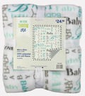 No-Sew Throw Fleece Fabric 48\u0022-Bjorn Cadastral