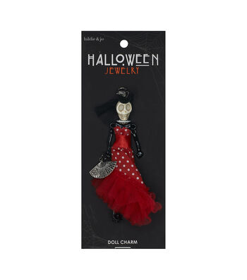 hildie & jo Halloween Doll Pendant-Day Of The Dead Chacha Antonella