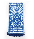 Indigo Mist Shibori Towel