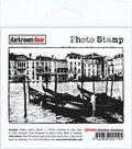 Darkroom Door Cling Stamp 4.5\u0022X3\u0022-Venetian Gondolas