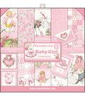 Stamperia 10-sheets 12\u0027\u0027x12\u0027\u0027 Double-Sided Paper Pad-Baby Girl